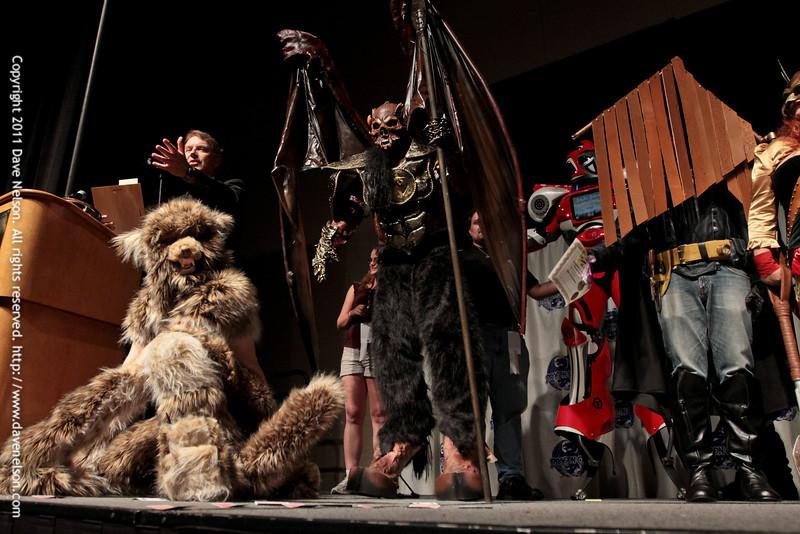 The Winners of the 2011 DragonCon Masquerade Costume Contest