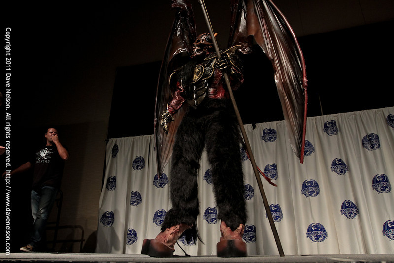 Winged Demon Costume at the 2011 DragonCon Masquerade Costume Contest