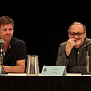 V: We are for Peace Always with Joel Gretsch and Robert Englund at DragonCon 2011
