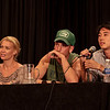 We're Safe Here: The Walking Dead Cast Q&A with Laurie Holden (Andrea), Jon Bernthal (Shane Walsh), Steven Yeun (Glenn) at DragonCon 2011