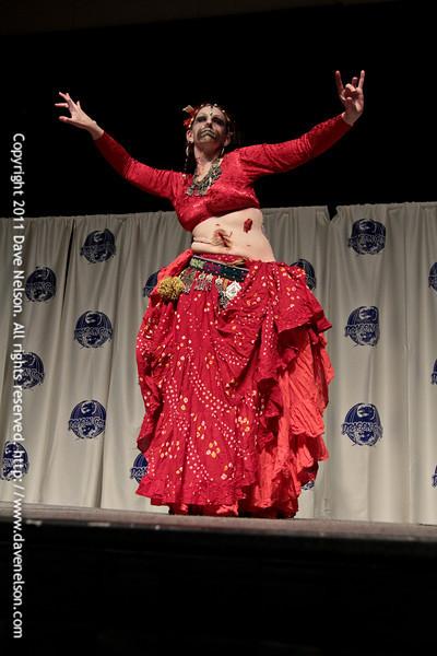 Zombie Costume at the 2011 DragonCon Masquerade Costume Contest
