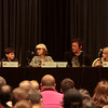Zero Tolerance: The Walking Dead Cast Q&A with Chandler Riggs (Carl Grimes), Madison Lintz (Sophia Peletier), Norman Reedus (Daryl Dixon), and Addy Miller (Little Girl Zombie) at DragonCon 2011