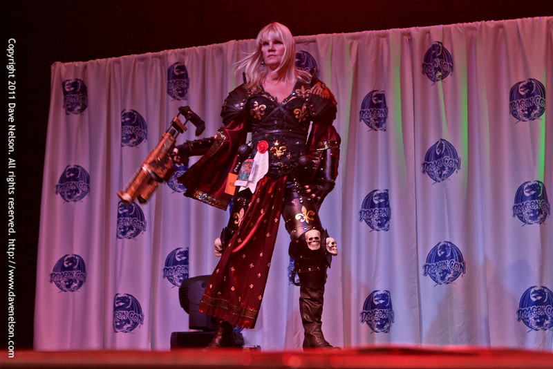 Warhammer Costume at the Friday Night Costuming Contest at DragonCon 2011