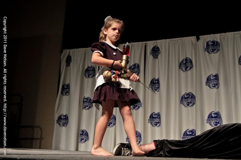 Bioshock 2 Costumes at the 2011 DragonCon Masquerade Costume Contest