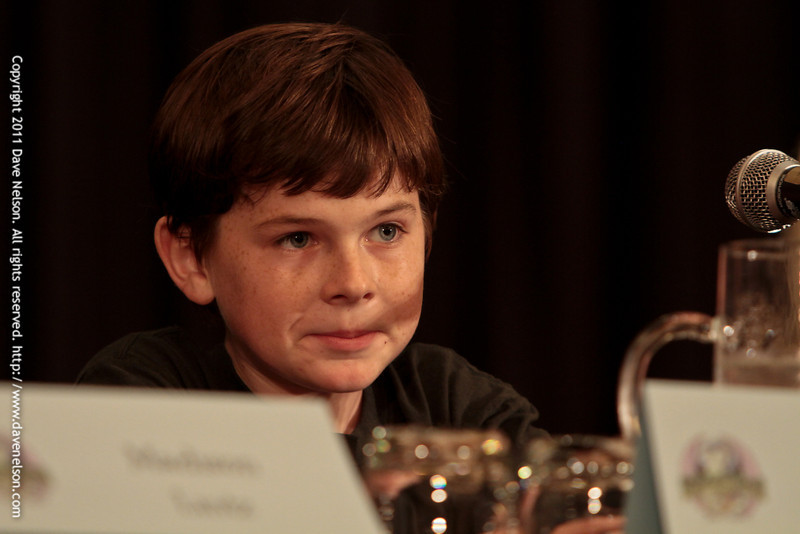 We're Safe Here: The Walking Dead Cast Q&A with Chandler Riggs (Carl Grimes) at DragonCon 2011