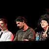 True Blood with Jim Parrack (Hoyt Fortenberry), Joe Manganiello (Alcide Herveaux), and Charlaine Harris (author) at DragonCon 2011