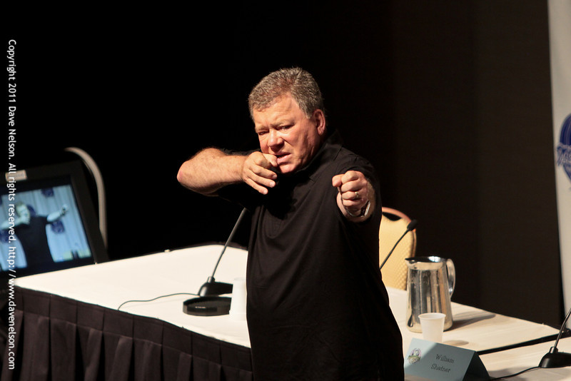 William Shatner at DragonCon 2011