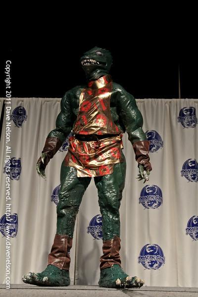 Star Trek Costumes at the 2011 DragonCon Masquerade Costume Contest