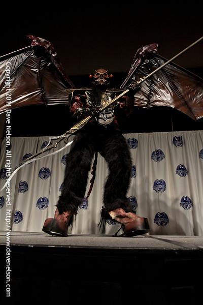 Winged Demon Costume at the 2011 DragonCon Masquerade Costume Contest