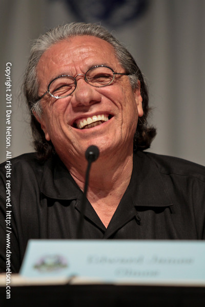 Children of Humanity Battlestar Galactica panel with Edward James Olmos (Admiral William Adama) at DragonCon 2011