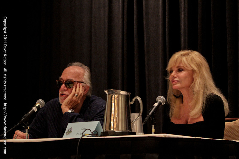 WKRP in Atlanta with Loni Anderson (Jennifer Elizabeth Marlowe) and Howard Hesseman (Johnny 'Dr. Fever' Caravella) at DragonCon 2011