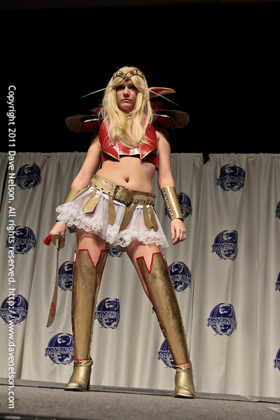 WoW (World of Warcraft) Costume at the 2011 DragonCon Masquerade Costume Contest