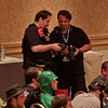 Thom and Tito comparing photos at DragonCon 2011