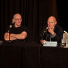 Back to the Future Q&A with Christopher Lloyd (Dr. Emmett Brown) and James Tolkan (Principal Strickland) at DragonCon 2011