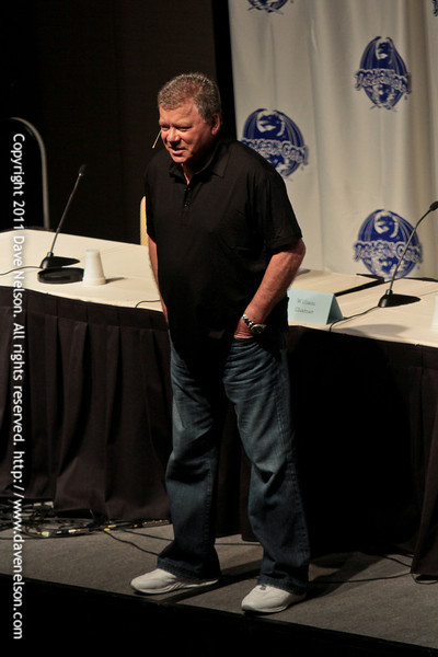 William Shatner at DragonCon 2011