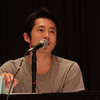 Steven Yeun talks about acting on The Walking Dead