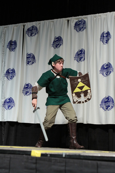 Link Costume at the Masquerade Costume Contest