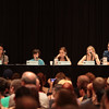 Chandler Riggs, Emily Kinney, Madison Lintz, Steven Yeun, and James Allen McCune talk about acting on The Walking Dead