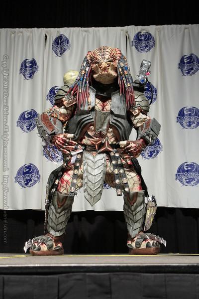 Predator Costume at the Masquerade Costume Contest
