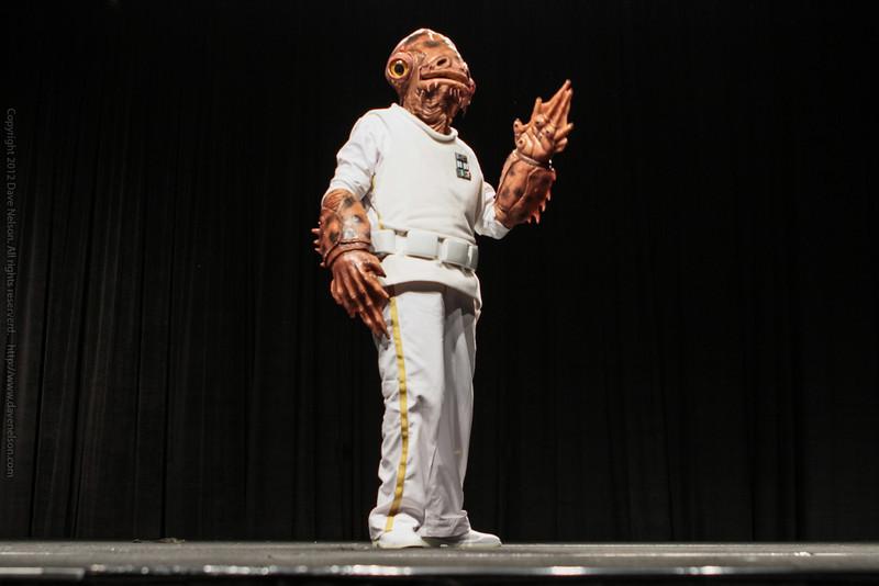 Star War's Admiral Akbar Friday Night Costume Contest