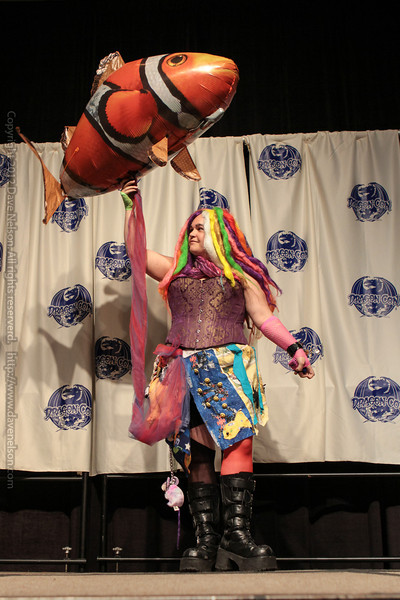 Costumes at the From the Page to the Stage: Comic Book Pageant