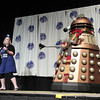 Doctor Who Dalek Costumes at the Masquerade Costume Contest