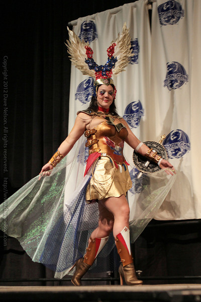 Wonder Woman at the From the Page to the Stage: Comic Book Pageant