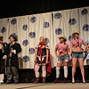 Distractions while the judges deliberate at the From the Page to the Stage: Comic Book Pageant