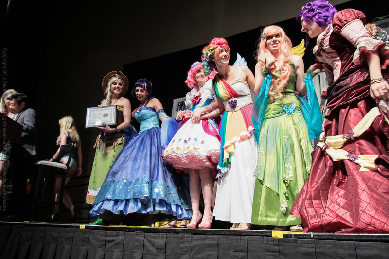 Winning Costumes at the Masquerade Costume Contest