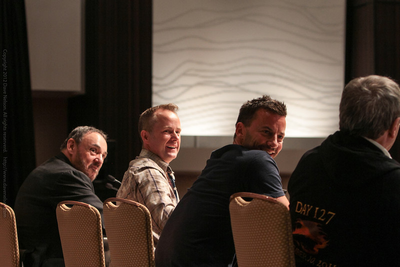 Sylvester McCoy, Craig Parker, Billy Boyd, and John Rys-Davies talk about Lord of the Rings and The Hobbit movies
