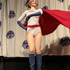 Super Girl at the From the Page to the Stage: Comic Book Pageant