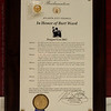 Proclamation from the Atlanta City Council naming September 1st as Burt Ward day