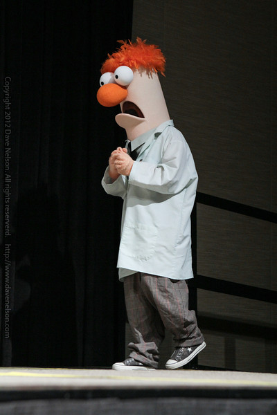 Beaker the Muppet Costume at the Masquerade Costume Contest