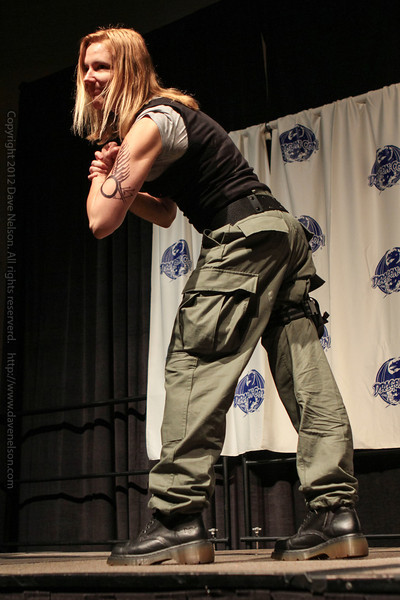 Starbuck at the From the Page to the Stage: Comic Book Pageant
