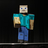 Minecraft's Steve at the Friday Night Costume Contest