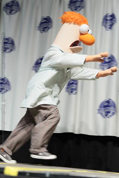 Beaker the Muppet Costume at the Masquerade Costume Contest