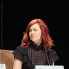 Carrie Preston at a True Blood panel