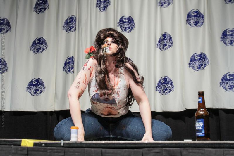 Zombie Costume at the Masquerade Costume Contest