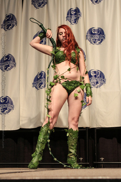 Poison Ivy at the From the Page to the Stage: Comic Book Pageant