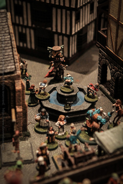 Minatures, I liove the guy in the middle mooning the others