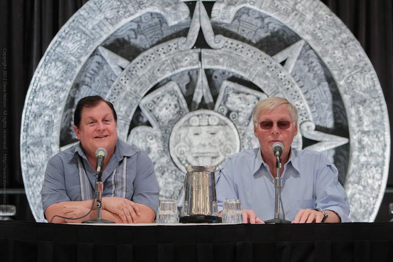 Burt Ward and Adam West talking about the Classic Batman & Robin TV show
