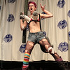 Tank Girl at the From the Page to the Stage: Comic Book Pageant