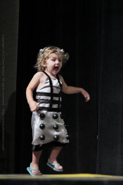 Baby Dalek Costume at the Masquerade Costume Contest