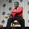 Zombie Mister Rogers Costume at the Masquerade Costume Contest