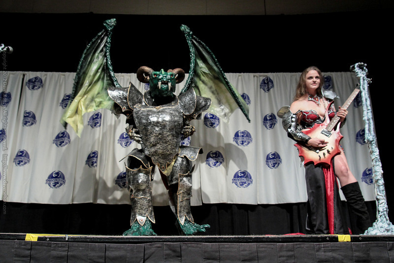 Dragon Rock Costumes at the Masquerade Costume Contest