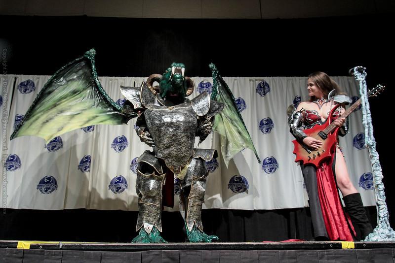 Dragon Rock Costumes at the Masquerade Costume Contest