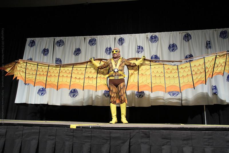 Condor Costume at the Masquerade Costume Contest