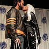 Wolverine and Storm at the From the Page to the Stage: Comic Book Pageant