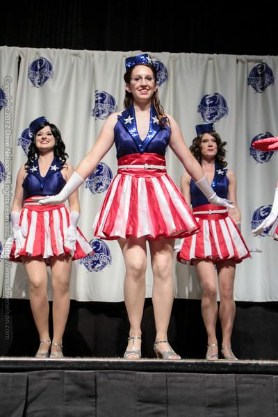 Captain America USO Costumes at the Masquerade Costume Contest
