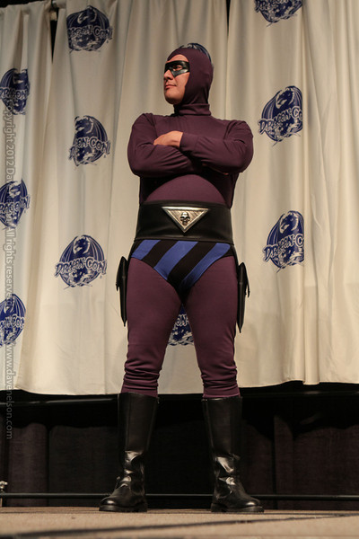The Spirit at the From the Page to the Stage: Comic Book Pageant